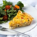 Easy Crab Quiche
