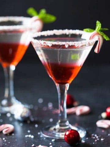Easy Peppermint Martini