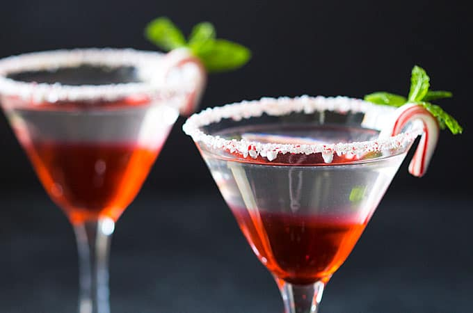 Easy Peppermint Martini