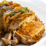 Crock Pot Apricot Pork Roast