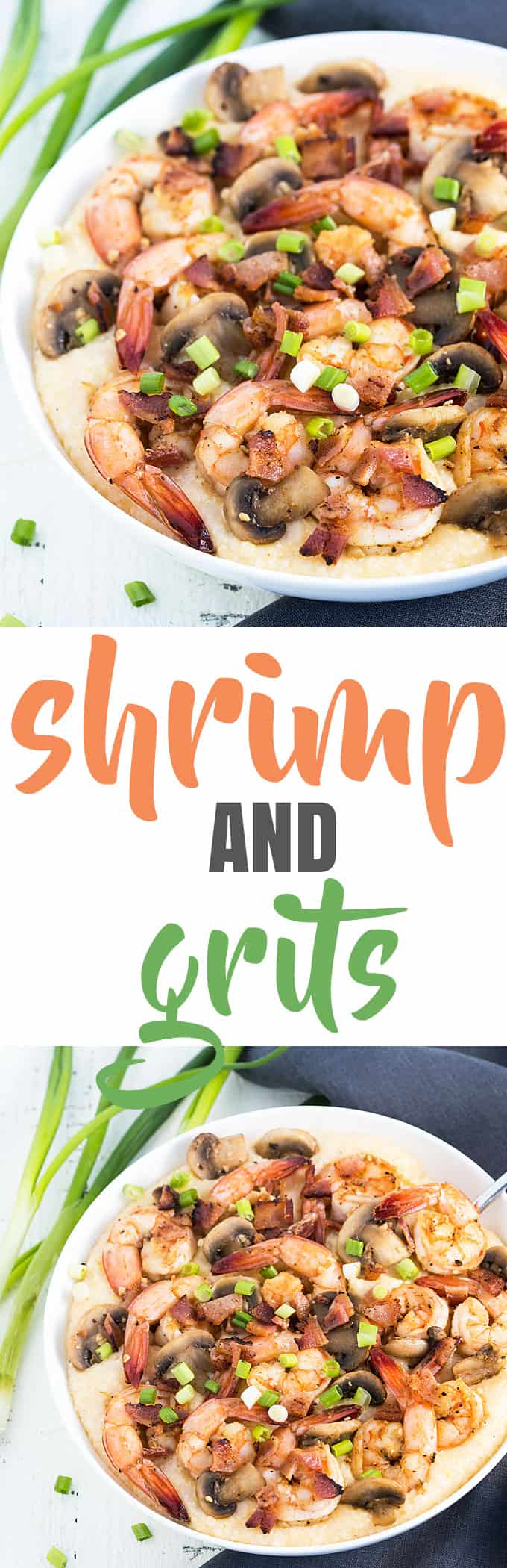 Shrimp and Grits - the ultimate seafood comfort food!