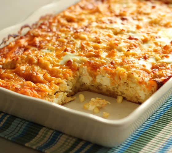 Crab, Corn & Egg Casserole