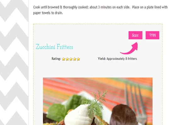 Ziplist Recipe Box & Shopping List