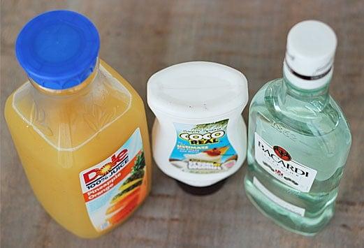 Pina Colada Ingredients