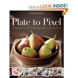 Plate to Pixel book with a bowl of pears on the cover.