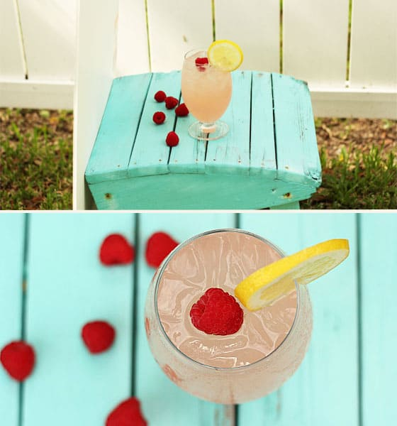 Raspberry Lemonade Cocktail Photos