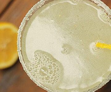 Cherry Lemon Martini