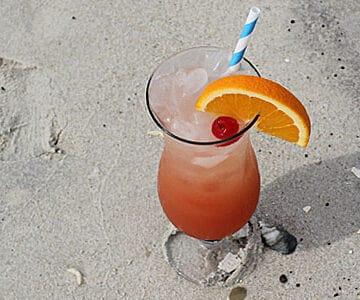 Hurricane Cocktail via www.TheBlondCook.com