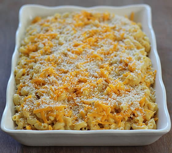 Pumpkin Mac & Cheese via www.TheBlondCook.com