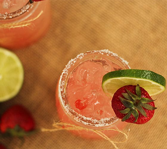 Strawberry Shortcake Margarita