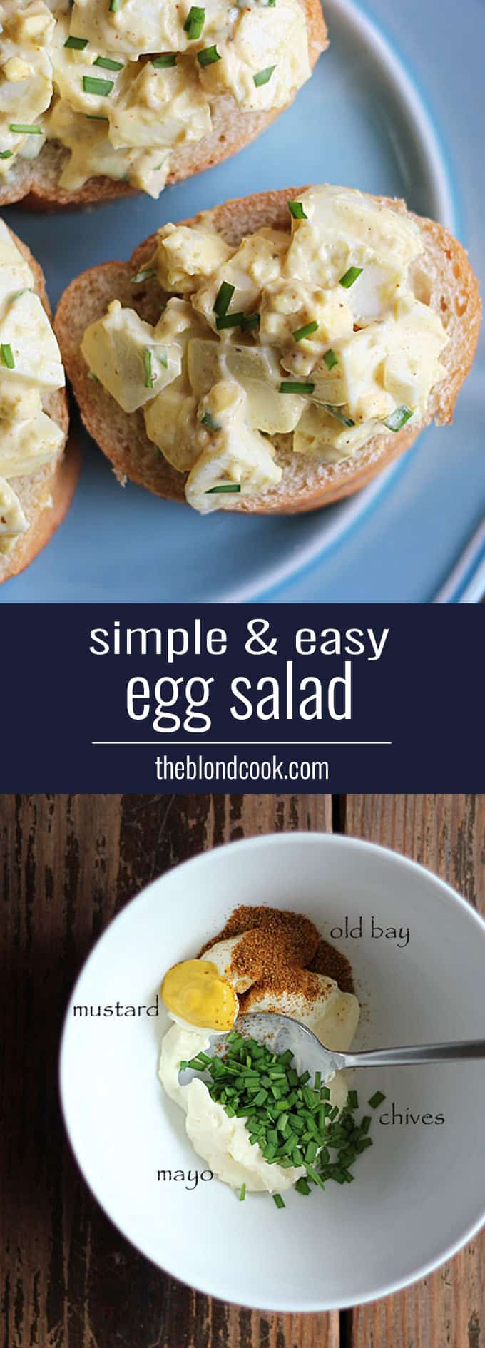Simple & Easy Egg Salad
