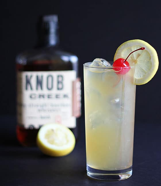 Bourbon Lemonade Cocktail