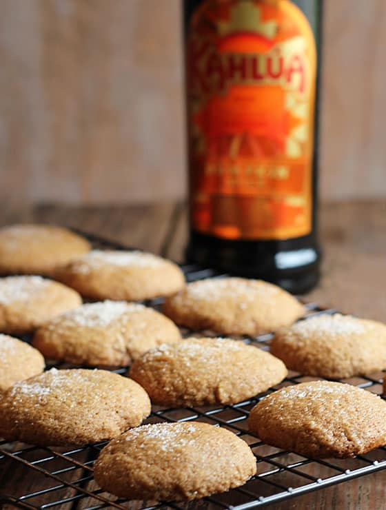 ... getting prepared to make a recipe for Pumpkin Gingersnap Cookies