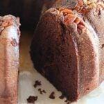 Kahlúa Double Chocolate Bundt Cake