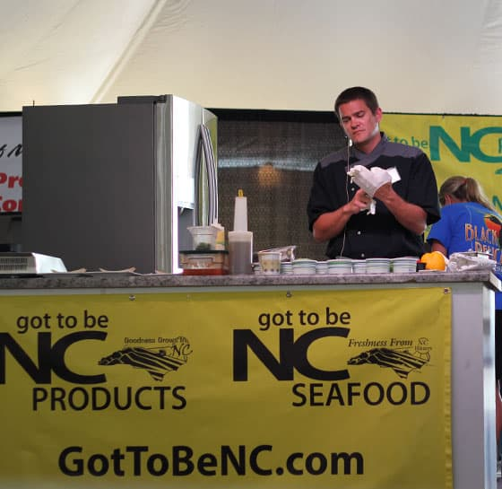 Chef Jason Smith - NCSF Chefs Competition