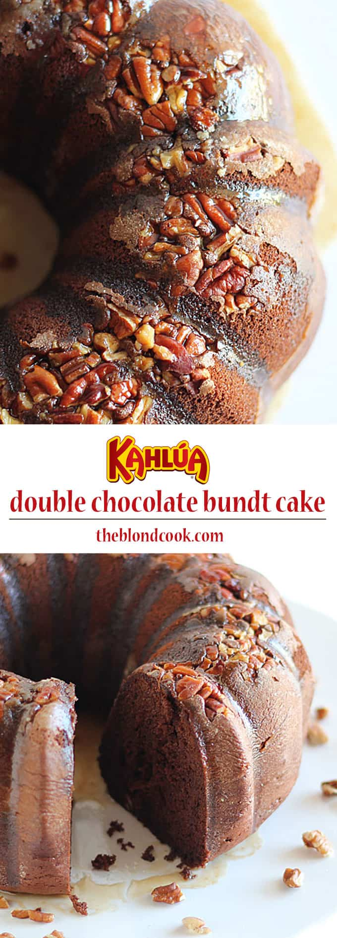 Kahlúa Double Chocolate Bundt Cake