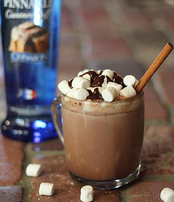 cinnamon chocolate drink recipe