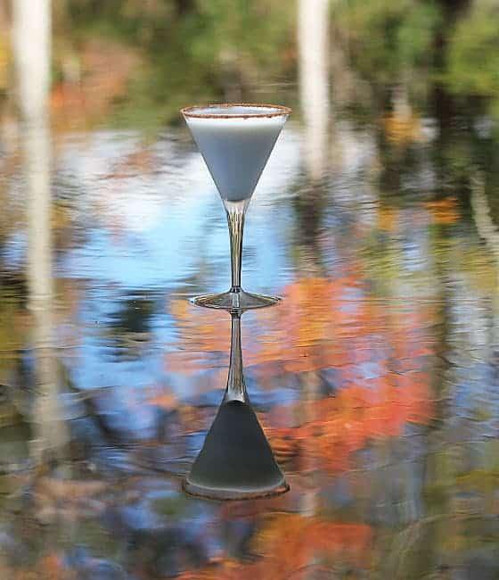 Peachberry Cobbler Martini