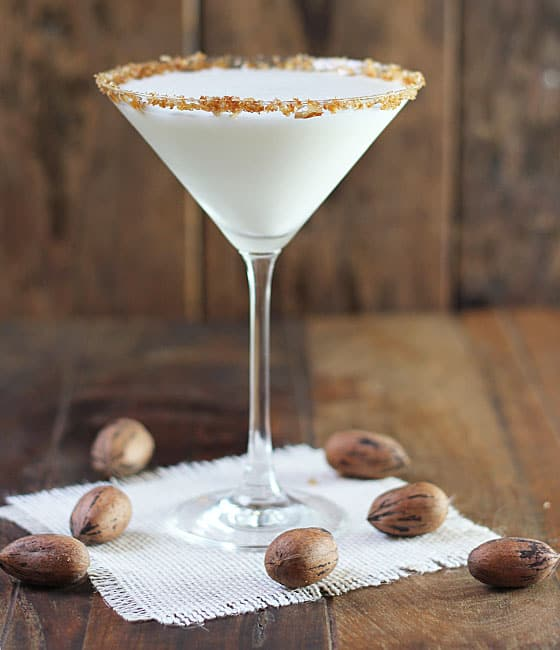 Pecan Pie Vodka Martini