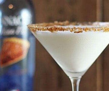 Pecan Pie Vodka Martini