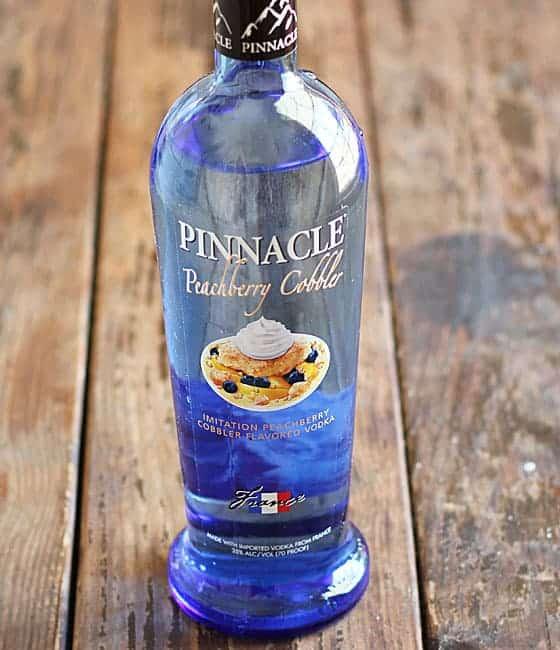 Pinnacle Peachberry Cobbler Vodka