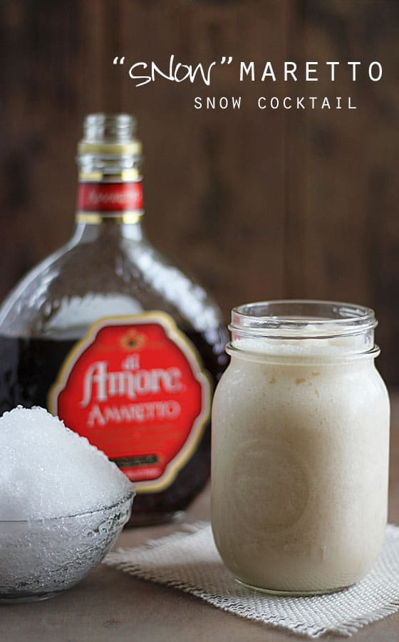 Snowmaretto Cocktail