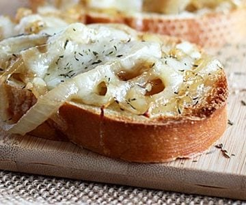 French Onion Toast