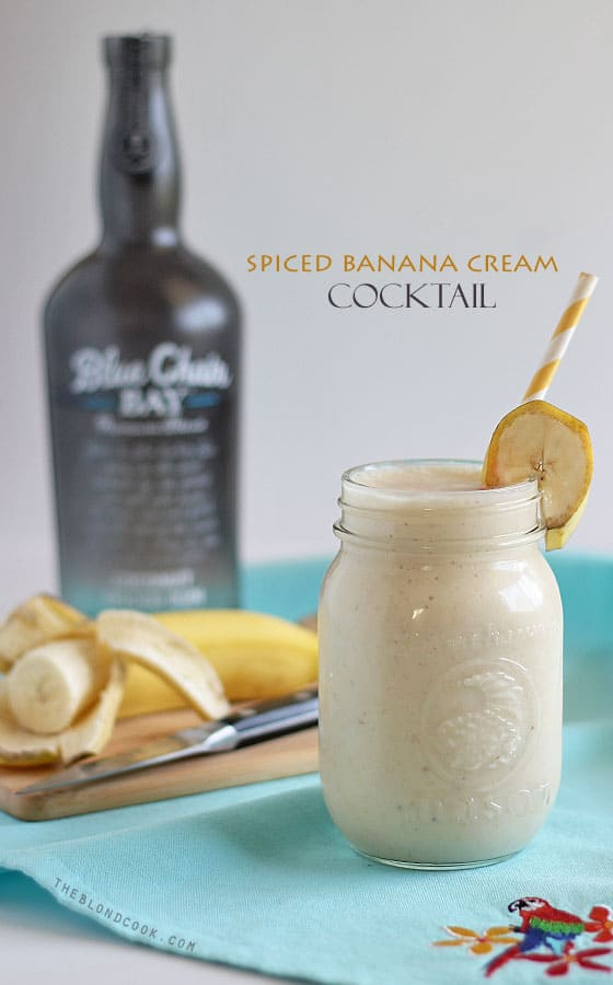 Spiced Banana Cream Cocktail