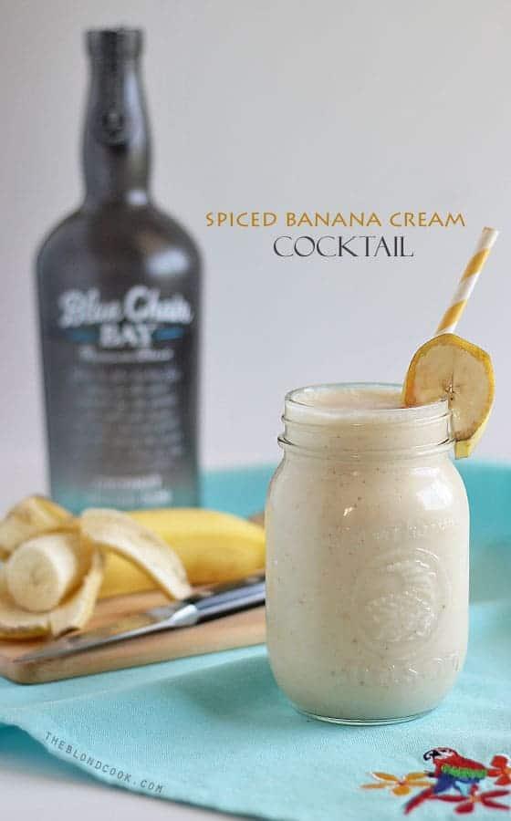 Spiced Banana Cream Cocktail