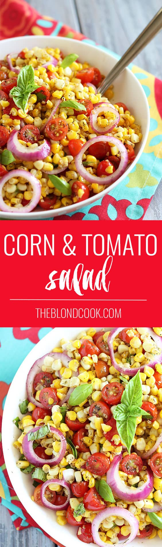 Corn and Tomato Salad | theblondcook.com
