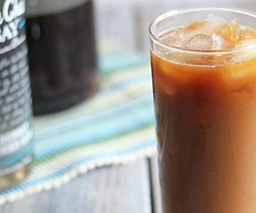 Coconut Spiced Iced Coffee Cocktail