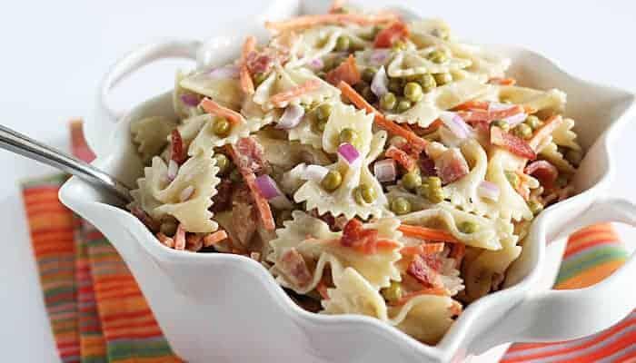 Pea Pasta Salad