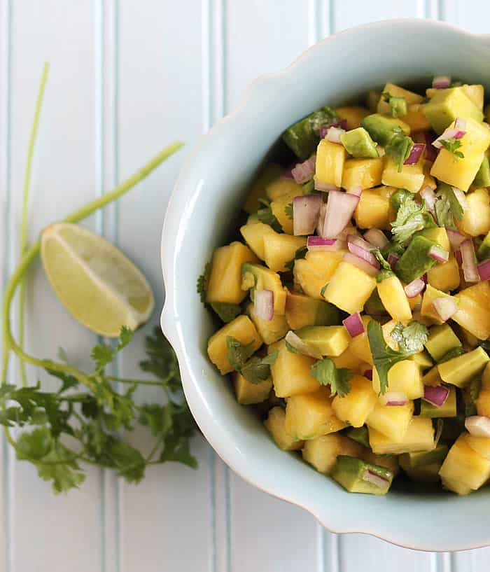 Pineapple Avocado Salsa