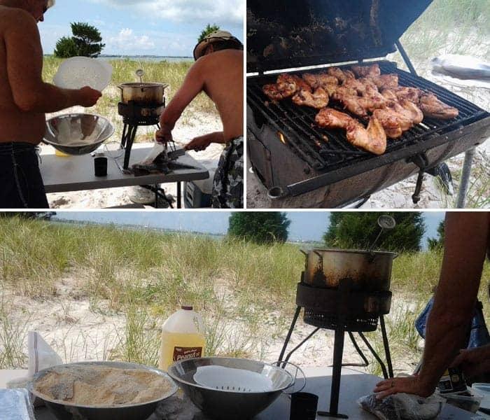 Beach Cookout