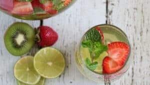 Strawberry Kiwi Sangria