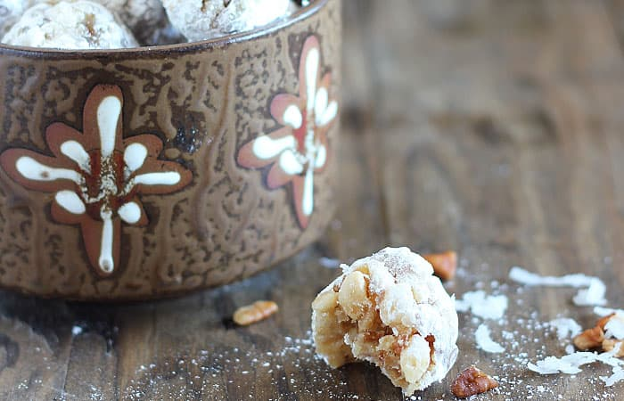 Bourbon Coconut Date Balls | The Blond Cook