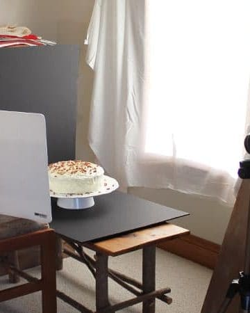 Food Photography: Cake Photographing Carrot Cake