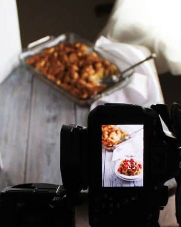 Food Photography Tips: Photographing French Toast Casserole