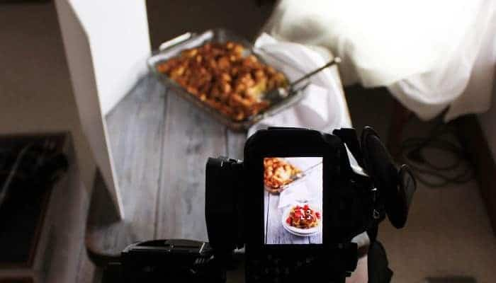 Food Photography Tips: Eggnog French Toast Casserole