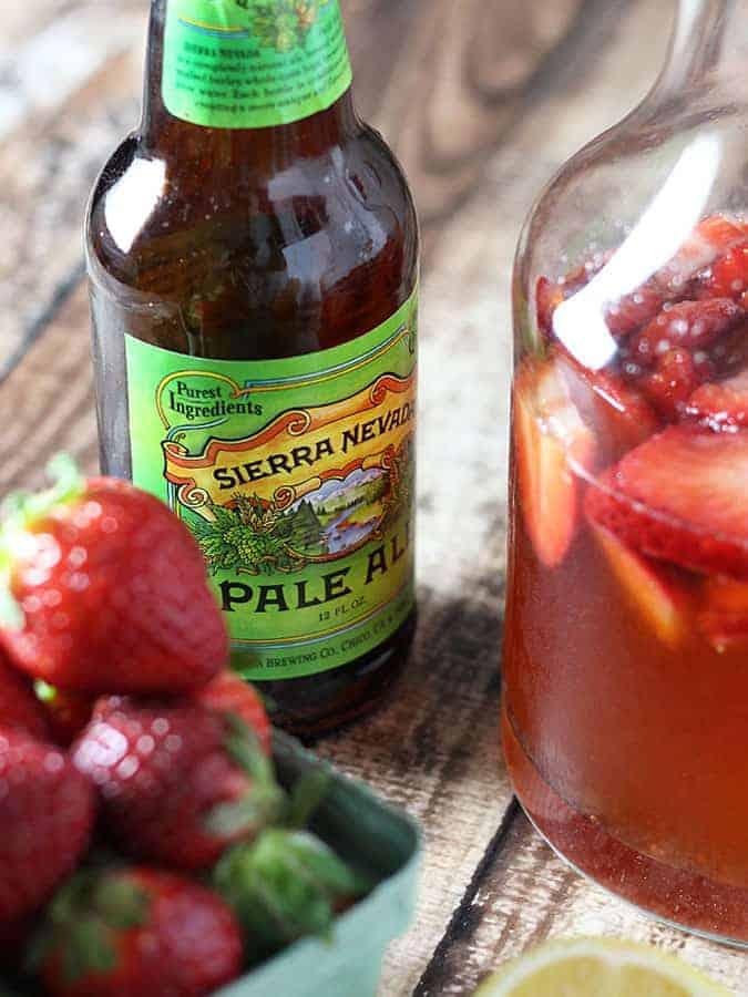 Strawberry Beer Lemonade
