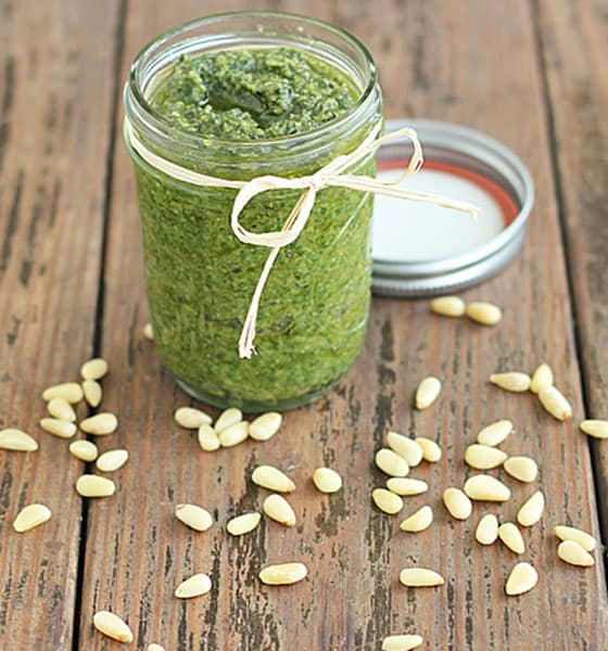 Easy Homemade Pesto