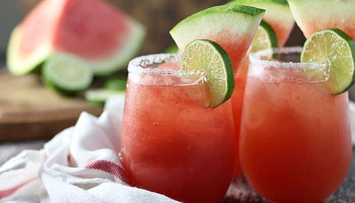 Watermelon Beer Margaritas