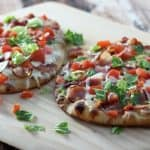 BLT Caesar Flatbread Pizza