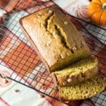 Pumpkin Peanut Butter Bread