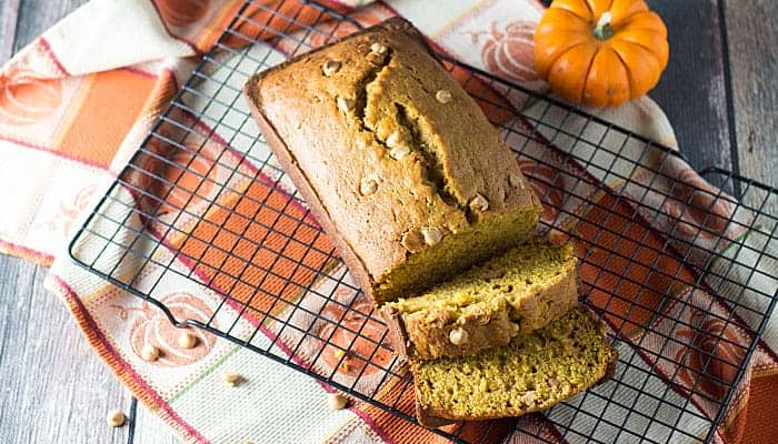 Pumpkin Peanut Butter Bread | The Blond Cook
