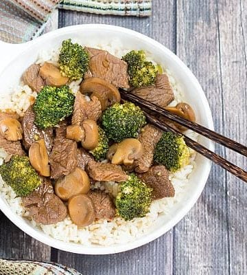 Easy Beef and Broccoli - better than takeout and in less than 30 minutes!!!