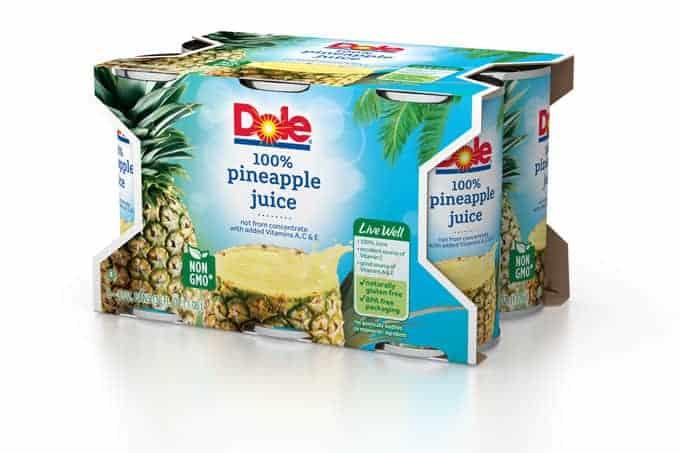 Dole Pineapple Juice 6 oz