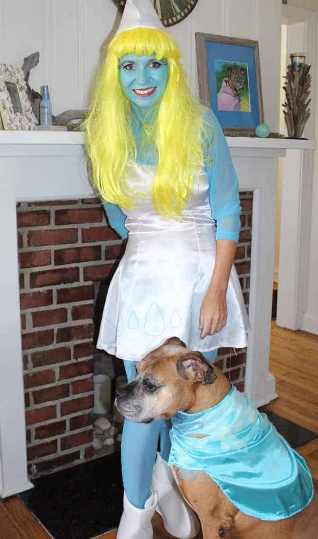 Smurfette Costume