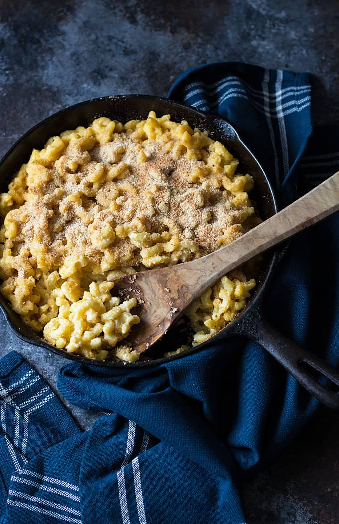 Macaroni and Cheese -- Creamy and cheesy with a crunchy bread crumb ...