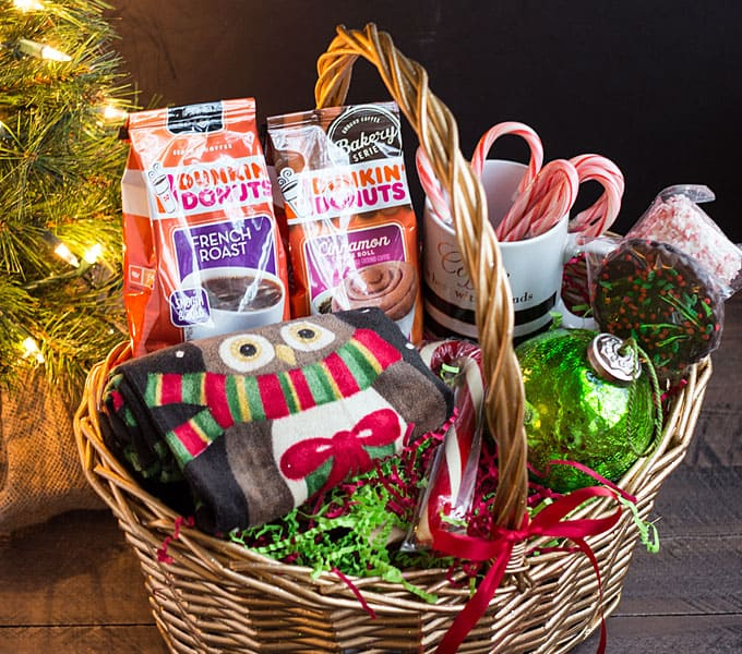 Coffee lovers gift basket ideas the blond cook